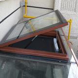断桥铝电动天窗 阳光房斜屋顶天窗 厂家直销量大优惠