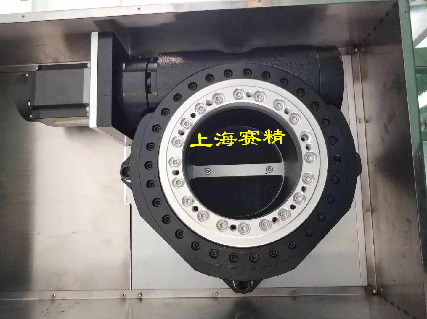 上海赛精KT82重载型中空旋转平、侧轴型中空旋转平台