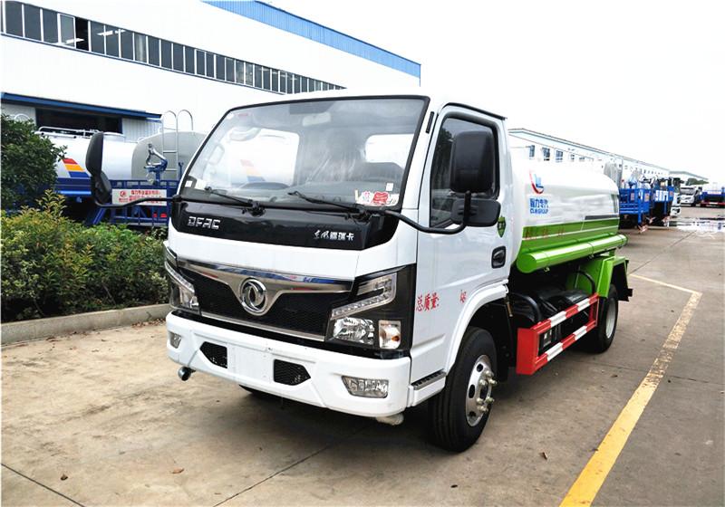 国六新星东风福瑞卡5方洒水车价格-生产厂家-程力