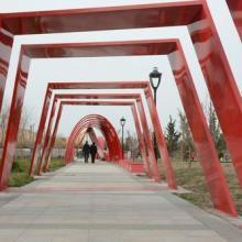 长沙钢结构景观长廊设计施工找长沙云翔批发
