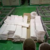白色耐磨抗震减震四氟楼梯板  热力管道滑动支架四氟板   厂价直销建筑楼梯四氟板