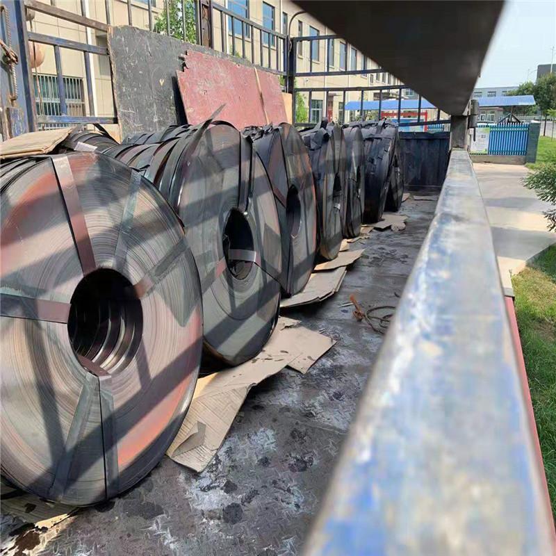 L 厂家直销 0.25*36mm 黑退波纹管带钢 质量稳定 Q195 运送到工地