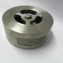 H71H对夹式止回阀不锈钢304对夹式止回阀H71光面锅炉配件单向阀批发