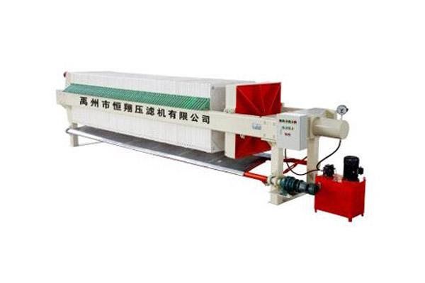 厂家直销程控自动拉板压滤机 许昌市自动拉板压滤机价格 压滤机供应商