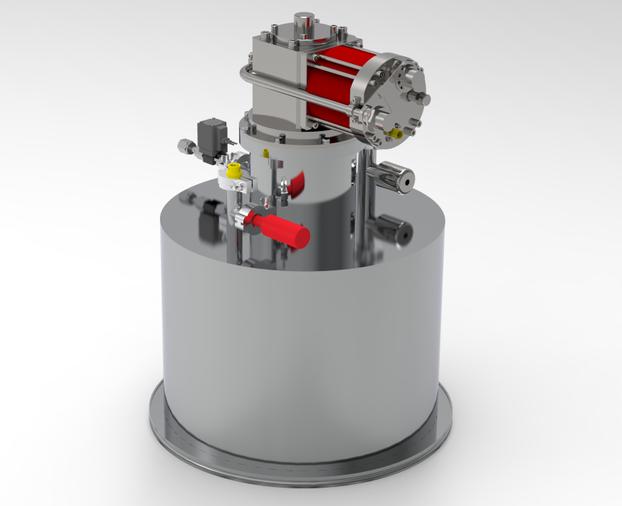 400mm口径低温泵  定制大口径低温泵