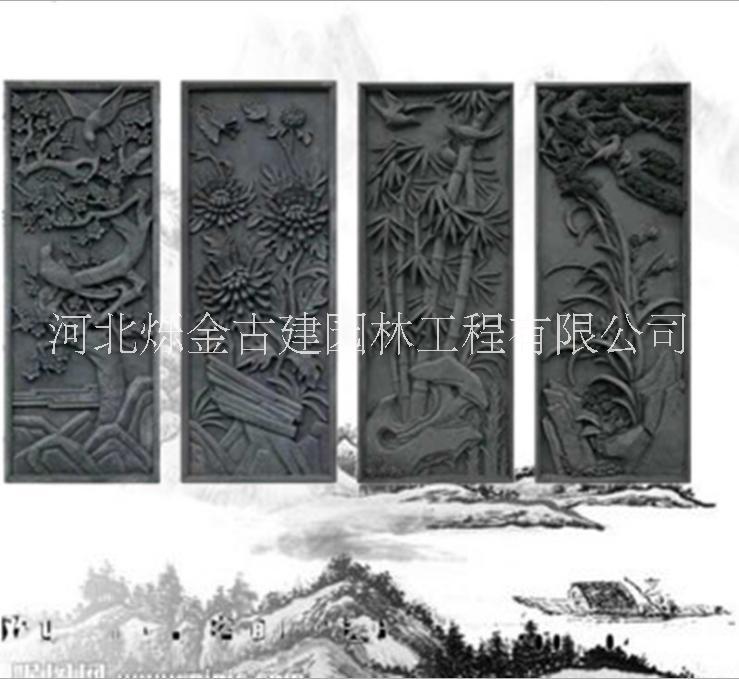 装饰立瓦报价表 复古瓦河北供应 仿古砖雕来图定制 装饰立瓦哪家好 优质厂家