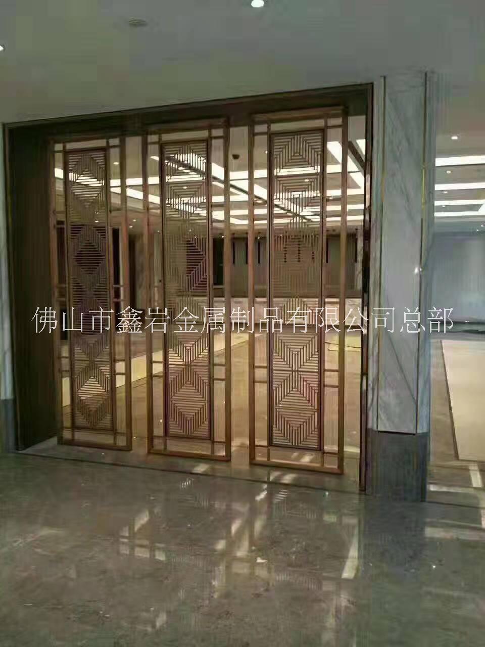 欧式青古铜屏风室内装饰金属浮雕隔断厂家定制生产