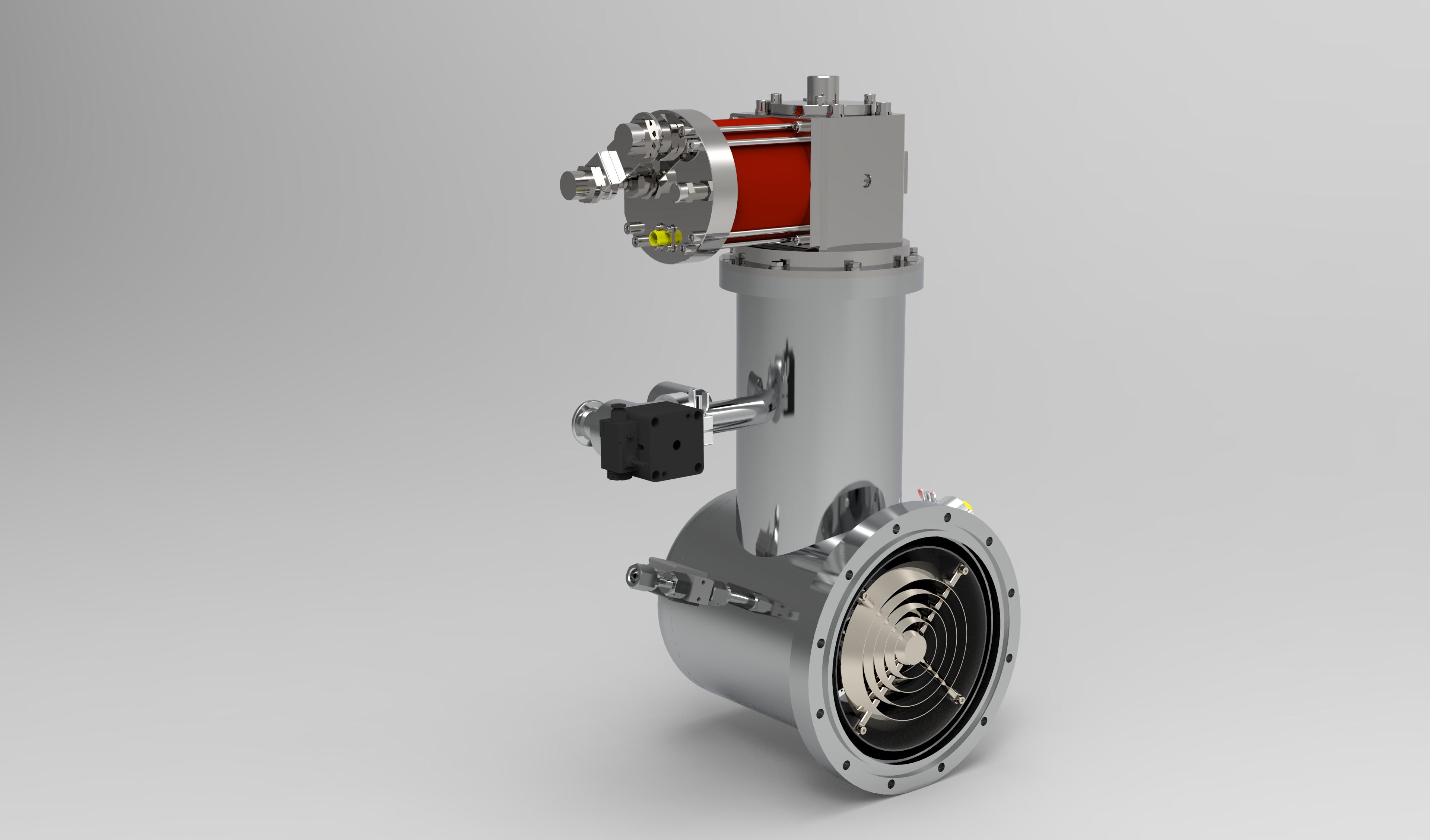 200口径低温泵