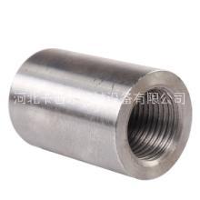 河北钢筋套筒生产厂家直螺纹钢筋紧固件适用于房建桥梁铁路隧道图片