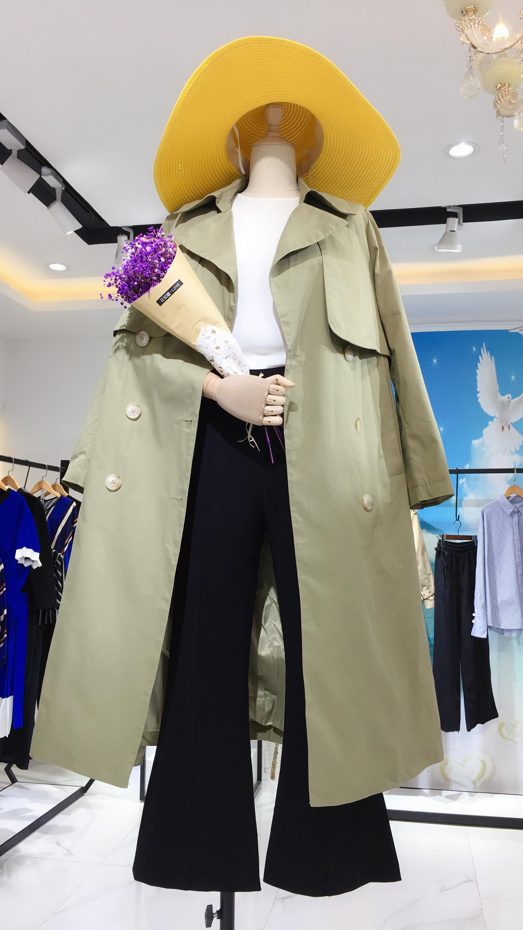 神秘花园韩版风衣外套