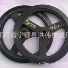 橡胶铁轮包胶轮生产定制