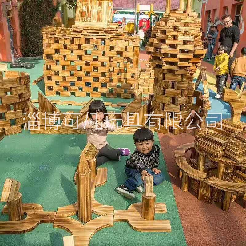 积木/碳化积木/ 积木/碳化积木/儿童木质积木玩具