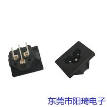 江苏插PCB板米老鼠插座丨梅花插座经销商丨米老鼠插座批发丨三芯插座加工定制