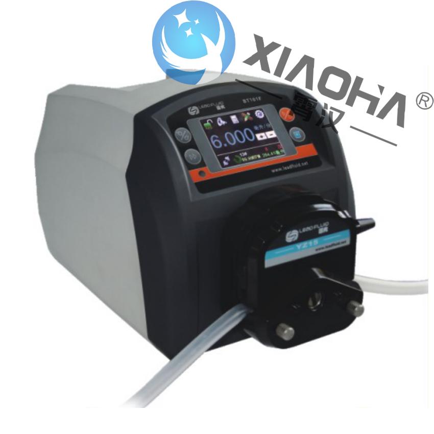 BT101F分配型智能蠕动泵DT泵头 BT101F/DT泵头 RS485通讯,支持MODBUS协议,方便与各种控制设备连