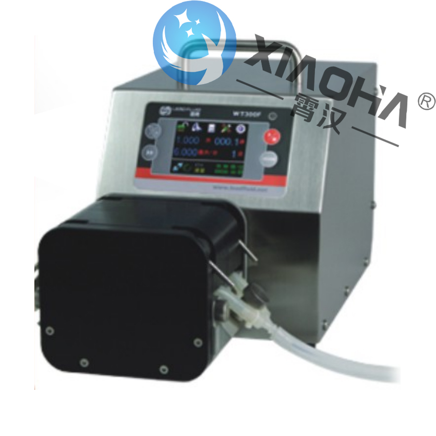 WT300F/DMD25泵头 分配智能型蠕动泵 启停、正反、全速、调速、状态记忆等功能
