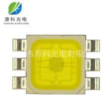 5074RGB灯珠 1W白光暖白高亮LED贴片 大功率照明光源发光二极管