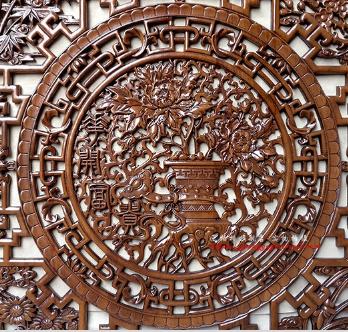 东阳木雕挂件