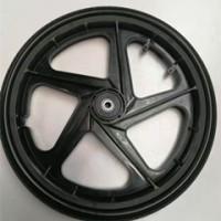 厂家直销20*1.75拖车轮毂 打猎车拖车 16寸 20寸斜五档塑料轮毂