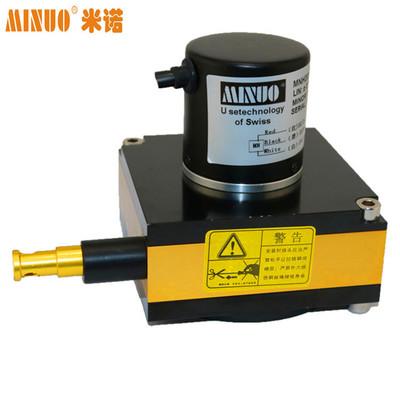 MINUO米诺电阻输出位移 微型拉绳位移传感器拉绳拉线尺传感器