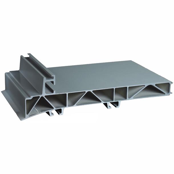 广东兴发铝业厂家直销车厢用铝型材包覆铝材 挂车车厢用铝型材