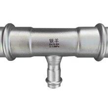 江苏薄壁不锈钢水管-不锈钢双卡压水管管件-卫生级水管管件