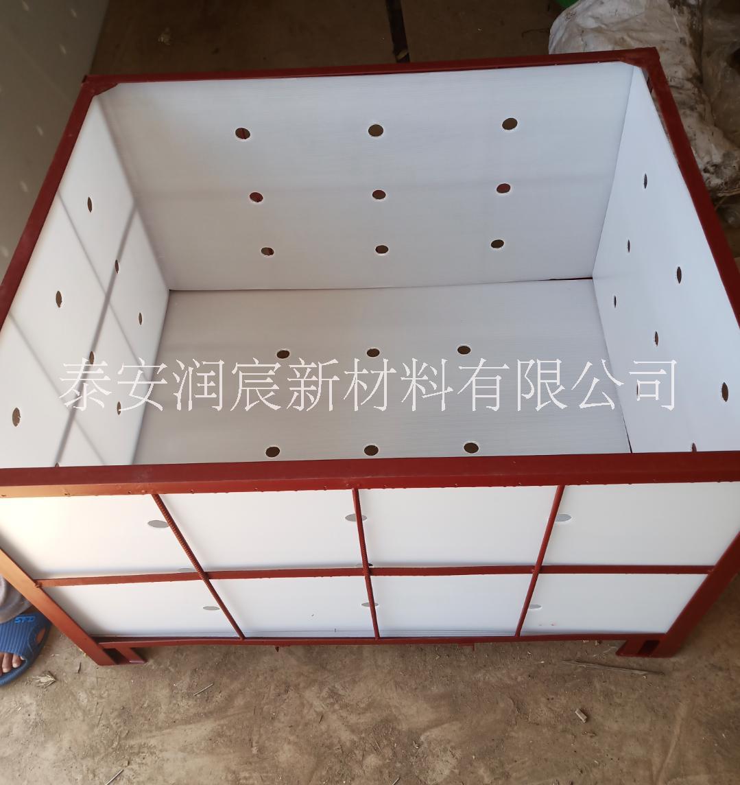 冷库塑料围板(中空板)苹果1