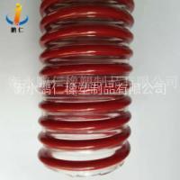 63.5*74.8mm 高质量透明红筋PVC 塑筋软管用于吸水 厂家直销 PVC 灰筋塑筋软管 PVC 红筋塑筋软管