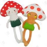 定制吉祥物公仔蘑菇公仔公司毛绒玩具