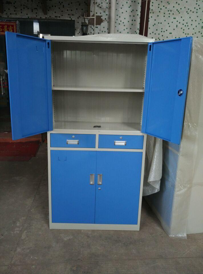 四门文件柜 档案柜 文具柜 更衣柜  多功能储物柜