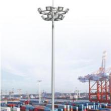 港口码头货场高杆灯堆场高杆灯 高杆灯设计生产基础制作安装图片