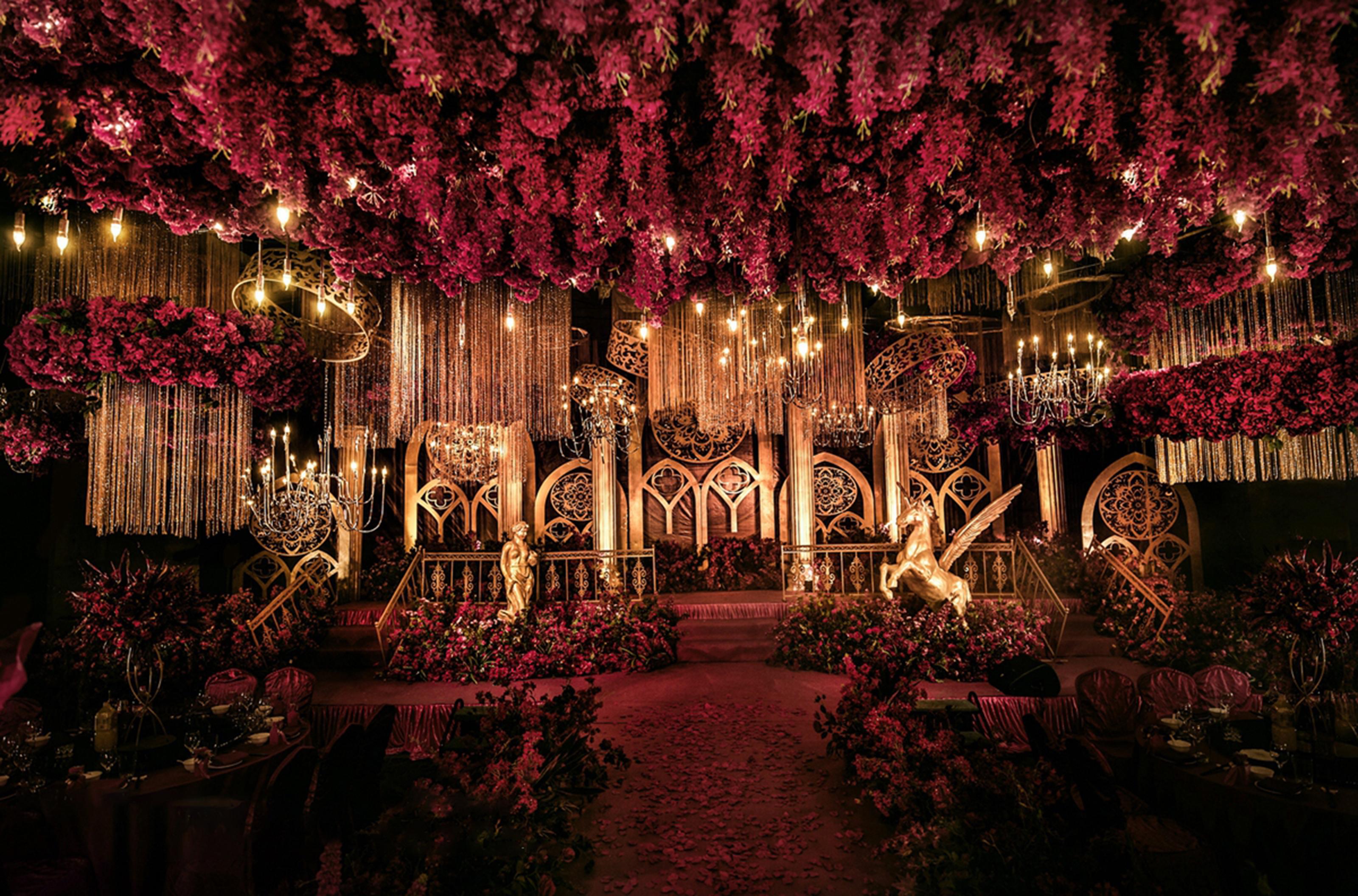 欧式城堡主题婚礼|高端定制奢华梦幻婚礼一站式服务