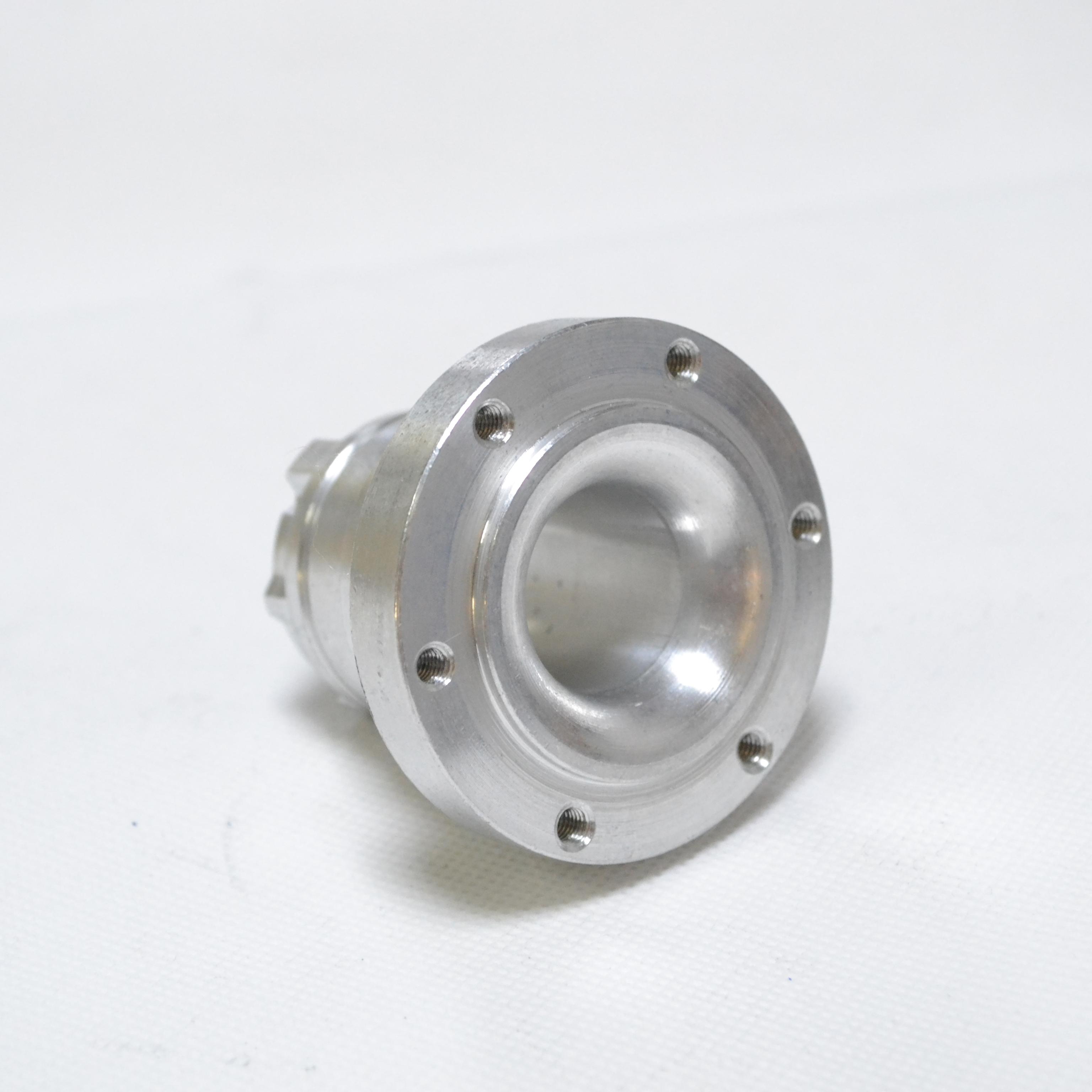 工厂来图来样加工定制灯饰配件铝型材 车床CNC阳极氧化一体化生产