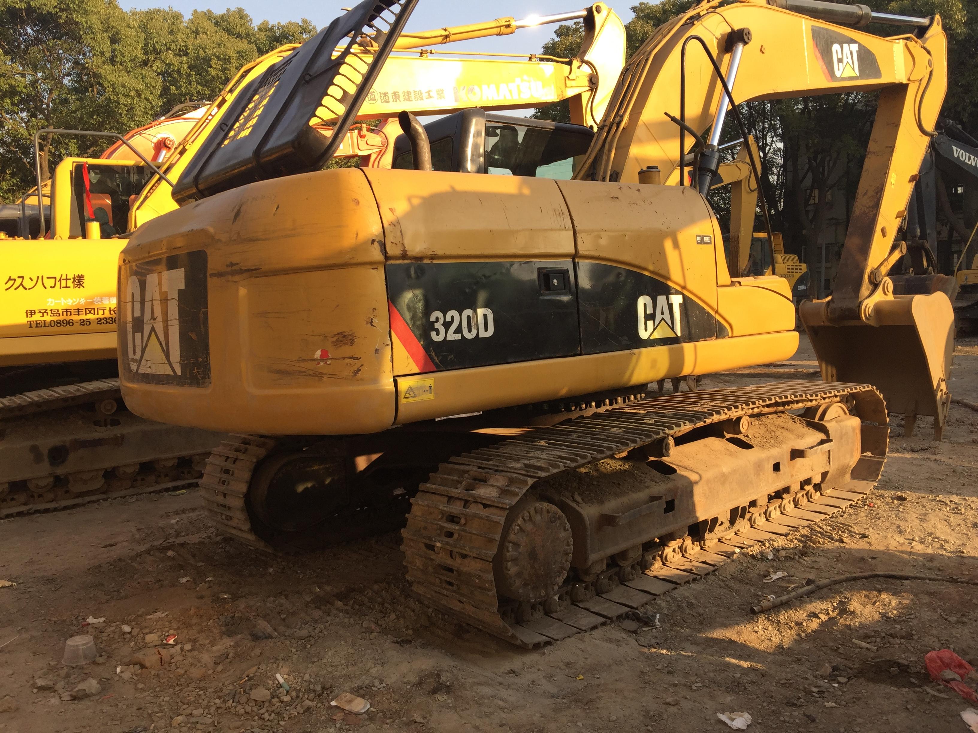 卡特挖掘机 二手卡特320D挖掘机