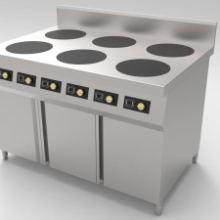 智能电独立煲粥炉 六眼自动升降煮面炉 电磁炉厂家批发