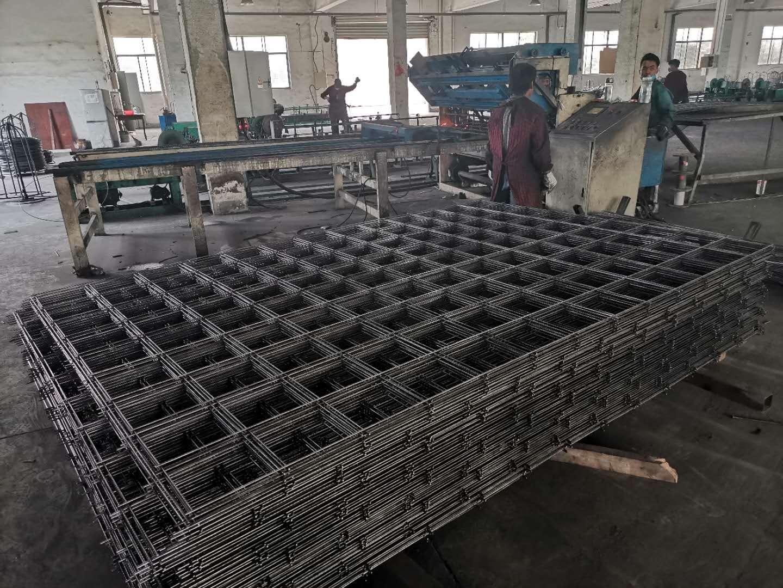 杭州工地电焊网片厂家直销  湖州工地工程网孔定制价格   订做本地钢丝冷拔丝带肋浇地坪钢筋网片