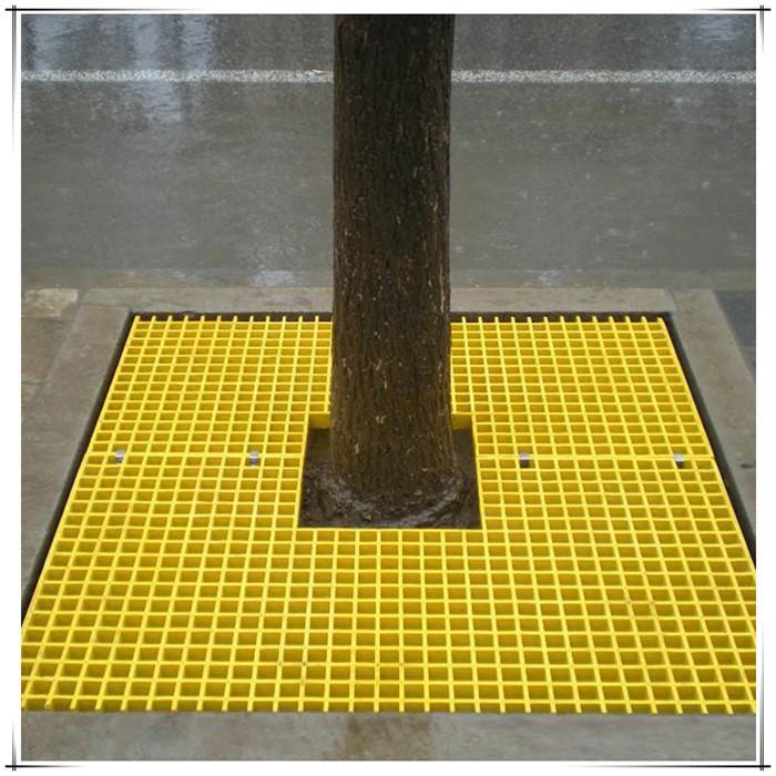 沧州厂家树脂树坑盖板玻璃钢格栅厂家现货地沟盖板