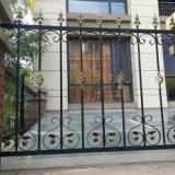 欧式铁艺护栏 定制铝艺外墙护栏|