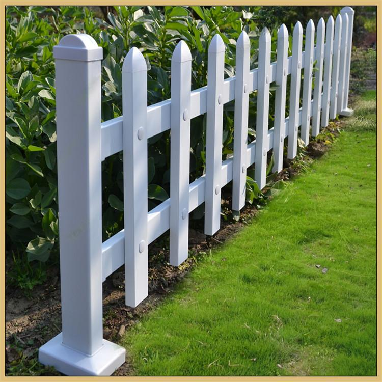 临朐PVC护栏 绿化带草坪护栏 公园pvc花园栅栏