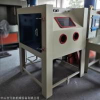 邯郸手动喷砂机 小型箱式环保干喷砂机