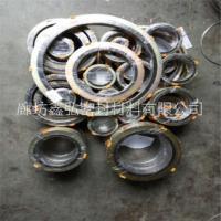 电厂专用D型金属缠绕垫片加工定制 304带内外环金属缠绕垫 基本型金属缠绕垫图片