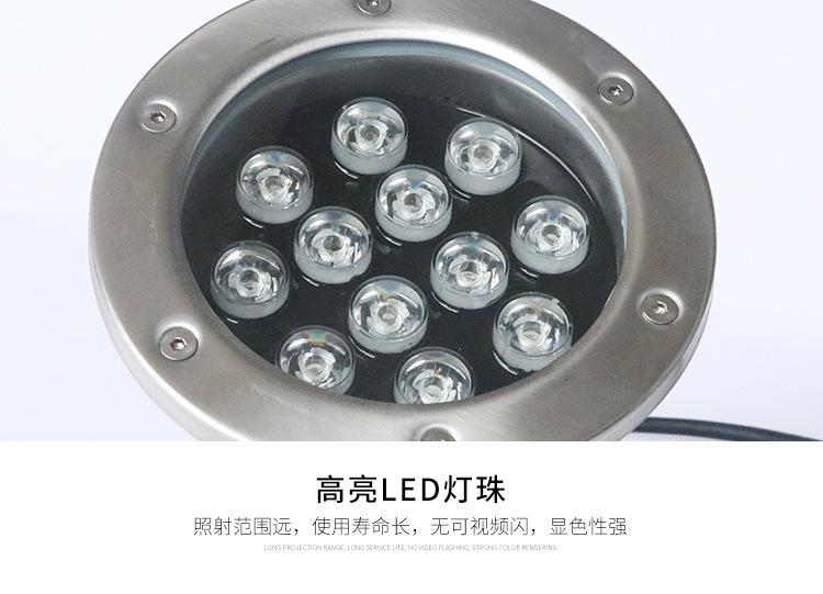 中山led不锈钢水底灯厂家-价格-供应商