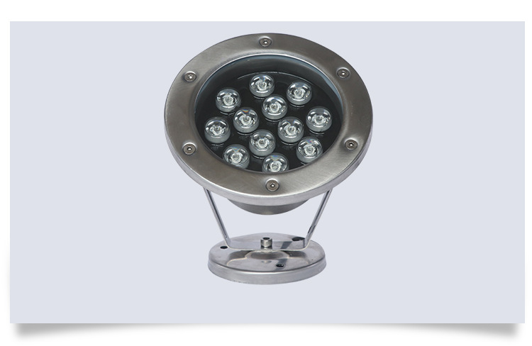 厂家直销led不锈钢水底灯 喷泉水底灯 七彩水底灯 LED水底射灯厂家