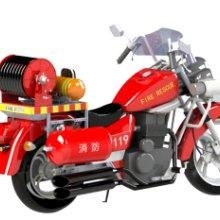 两轮消防摩托车QJ150-18F批发