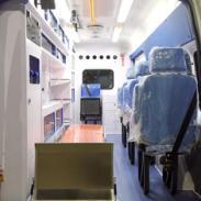 福特全顺新世代V348长轴救护车图片