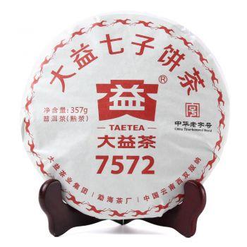 2018年大益1801 7572普洱茶价格-茶赢茶叶交易平台