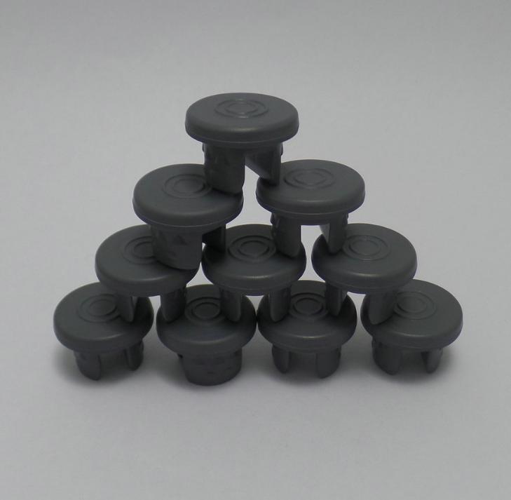 现货供应化装品西林瓶配件:胶塞、13#丁基胶塞