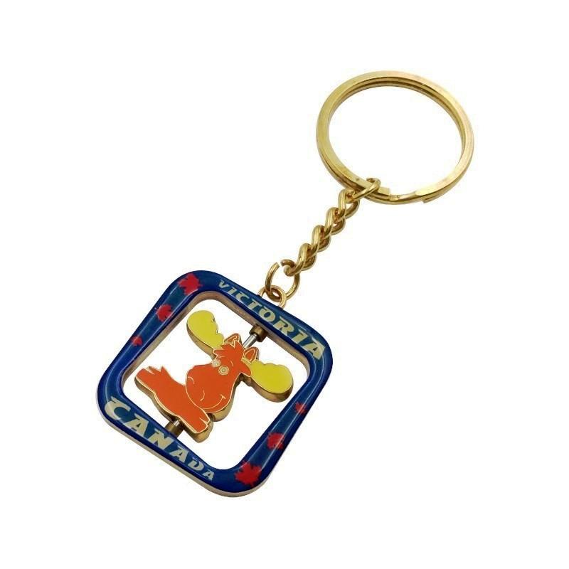 转转牌钥扣定制  转转牌钥扣生产厂家