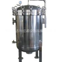 石家庄古川过滤公司供应不锈钢袋式过滤器,单袋多袋,各种流量可供选择。