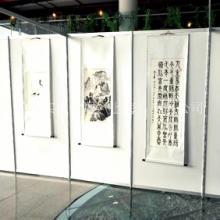 广告宣传展板八棱柱展示架书画展架定制广告屏风制作图片