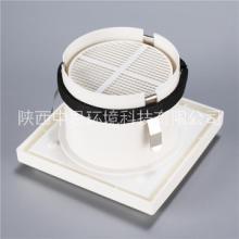 广东新款按压墙式风口定制 圆形进气风口价格图片